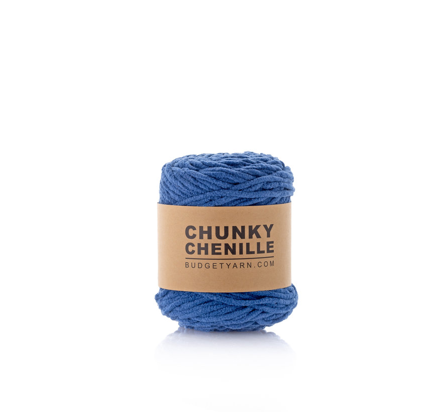 Budget Yarn Chunky Chenille 060 Kleur: Navy Blue