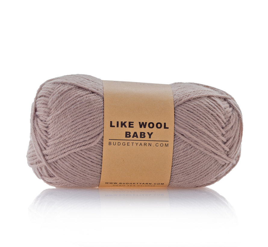 Budget Yarn Like Wool Baby 005 Kleur: Clay