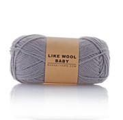 Budget Yarn Budget Yarn Like Wool Baby 096 Kleur: Shark Grey