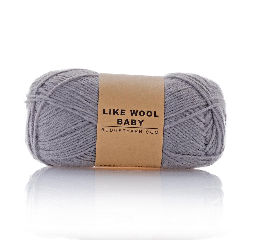 Budget Yarn Like Wool Baby 096 Kleur: Shark Grey