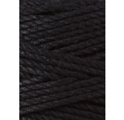 Bobbiny Bobbiny Macrame Triple Twist 3mm Black