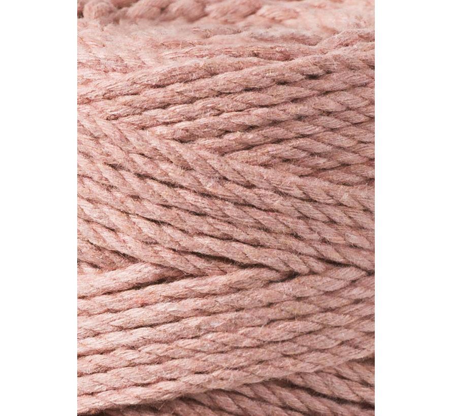Bobbiny Macrame Triple Twist 3mm Blush