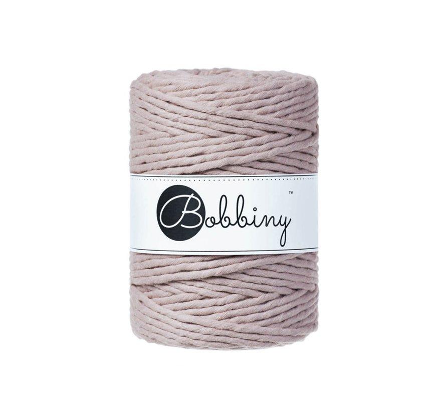 Bobbiny Macrame cord 5mm Pearl