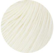 Lana Grossa MC Wool Cotton Mix 130 nr.109 Kleur: RuwWit