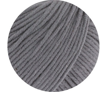Lana Grossa MC Wool Cotton Mix 130 nr.115 Kleur: Grijs Bruin