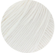 Lana Grossa MC Wool Cotton Mix 130 nr.116 Kleur: Wit