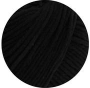 Lana Grossa MC Wool Cotton Mix 130 nr.117 Kleur: Nachtblauw