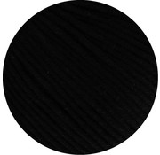 Lana Grossa MC Wool Cotton Mix 130 nr.118 Kleur: Zwart