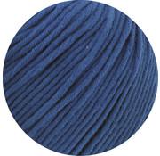 Lana Grossa MC Wool Cotton Mix 130 nr.138 Kleur: Konings Blauw