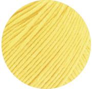 Lana Grossa MC Wool Cotton Mix 130 nr.155 Kleur: Zachtgeel