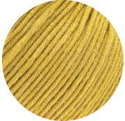 Lana Grossa MC Wool Cotton Mix 130 nr.156 Kleur: Mosterd Geel