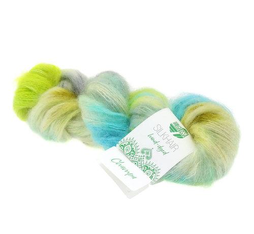 Lana Grossa Silkhair Hand-Dyed nr.607 Kleur: Champa