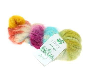 Lana Grossa Silkhair Hand-Dyed nr.609 Kleur: Kamal