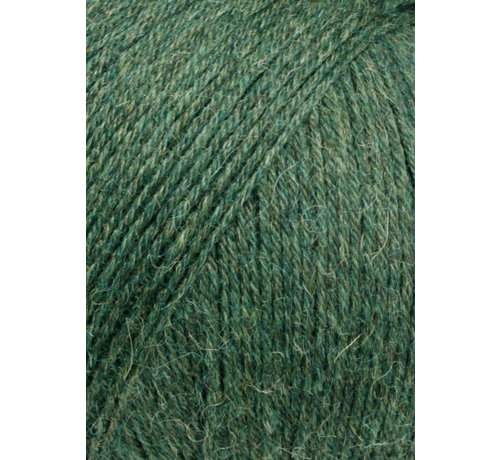 Lang Yarns Alpaca Soxx 4 ply 098 Kleur: Forest Groen
