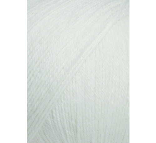 Lang Yarns Alpaca Soxx 4 ply 002 Kleur:Wit