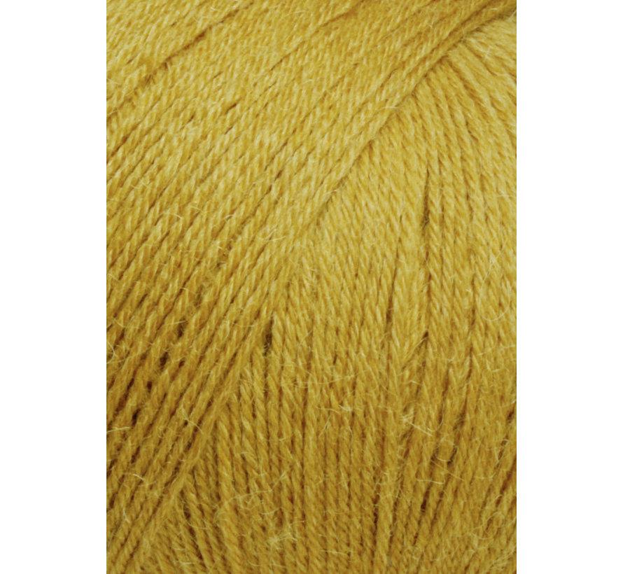 Alpaca Soxx 4 ply 050 Kleur: Mosterd Geel