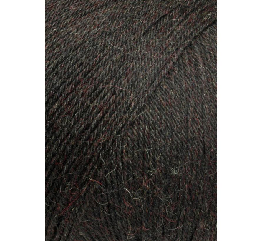 Alpaca Soxx 4 ply 068 Kleur: Donker bruin