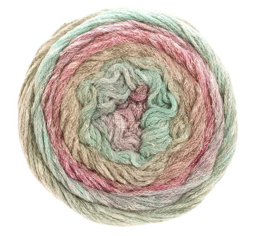 Amoroso 006 Kleur: Jade-Fuchsia-Groengrijs-Bes