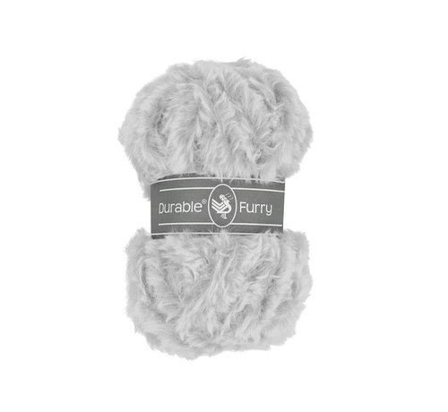 Durable Durable Furry 2228 Silver Grey