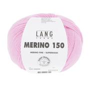 Lang Yarns Lang Yarns Merino 150 009 Kleur: Roze