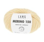 Lang Yarns Lang Yarns Merino 150 013 Kleur: LIcht Geel