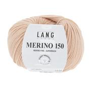 Lang Yarns Lang Yarns Merino 150 027 Kleur: Licht peach