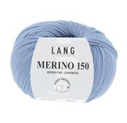 Lang Yarns Lang Yarns Merino 150 033 Kleur: Licht Jeans Blauw
