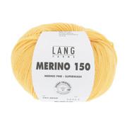 Lang Yarns Lang Yarns Merino 150 049 Kleur: Goud Geel