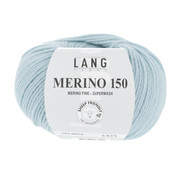 Lang Yarns Lang Yarns Merino 150 074 Kleur: IJsblauw