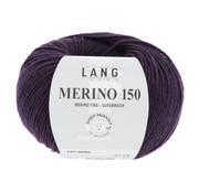 Lang Yarns Lang Yarns Merino 150 080 Kleur: Aubergine