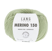 Lang Yarns Lang Yarns Merino 150 097 Kleur: Licht groen