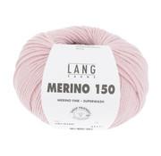 Lang Yarns Lang Yarns Merino 150 109 Kleur: Licht Roze
