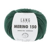 Lang Yarns Lang Yarns Merino 150 118 Kleur: Mosgroen