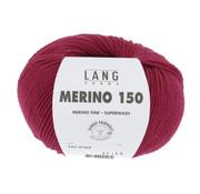 Lang Yarns Lang Yarns Merino 150 162 Kleur: Wijn rood