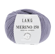Lang Yarns Lang Yarns Merino 150 207 Kleur: Lila