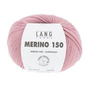 Lang Yarns Lang Yarns Merino 150 219 Kleur: Oudroze