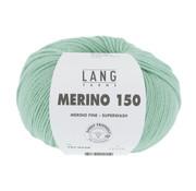 Lang Yarns Lang Yarns Merino 150 258 Kleur: Mintgroen