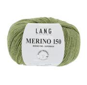 Lang Yarns Lang Yarns Merino 150 297 Kleur: Groen melange