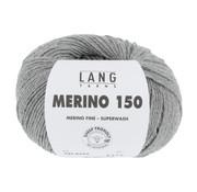 Lang Yarns Lang Yarns Merino 150 324 Kleur: Grijs melange