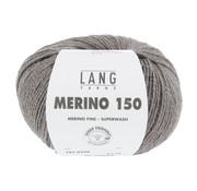 Lang Yarns Lang Yarns Merino 150 326 Kleur: Donker Beige melange