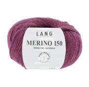 Lang Yarns Lang Yarns Merino 150 466 Kleur: Fuchsia melange