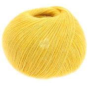 Lana Grossa Allora 001 Kleur: Geel