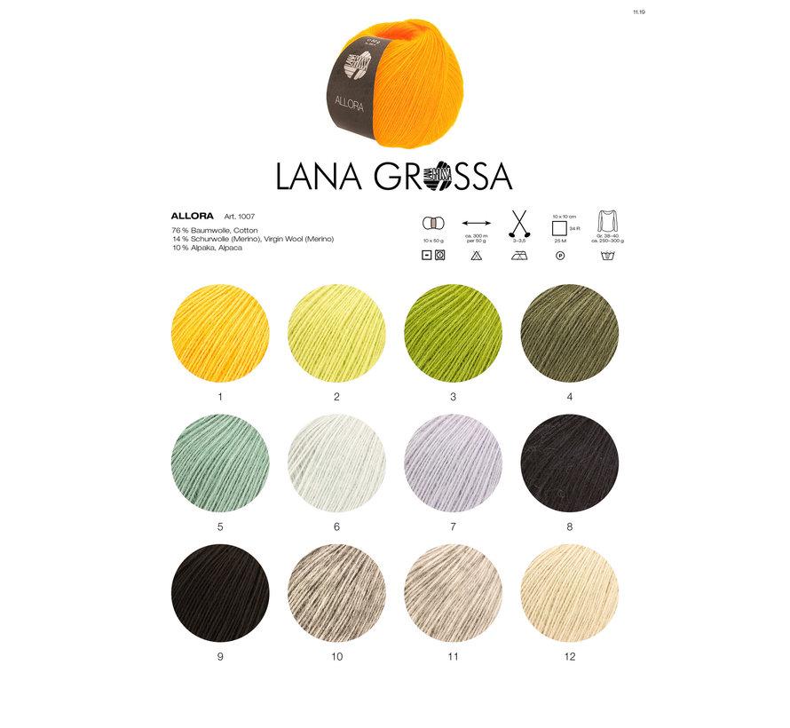 Allora 002 Kleur: Geel Groen