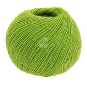 Lana Grossa Allora 003 Kleur: Licht Groen