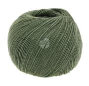 Lana Grossa Allora 004 Kleur: Donker Groen