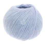 Lana Grossa Allora 007 Kleur: Pastel Blauw