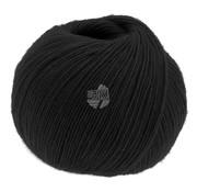 Lana Grossa Allora 009 Kleur: Zwart