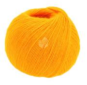 Lana Grossa Allora 020 Kleur: Geel Oranje