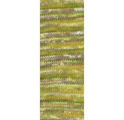 Lana Grossa Gomitolo Pazzo 812 Kleur: Olijf-Mosterdgeel-Paars