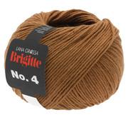 Lana Grossa Brigitte NO.4 004 Kleur: Bruin